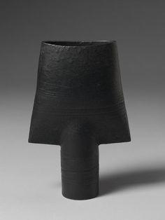 Pot Place of origin: Frome, England (made) Date: 1968 (made) Artist/Maker: Coper, Hans, born 1920 - died 1981 (maker) Materials and Techniques: Stoneware, with black matt glaze