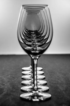 Photograph Wine Glasses by Manuel Alejandro L on Glass Photography, Hobby Photography, Still Life Photography, Abstract Photography, Macro Photography, Creative Photography, Black N White Images, Black And White, Rim Light