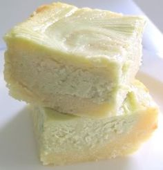 Green Tea Latte Brownies or Green Tea White Chocolate Cheesecake Brownies (You may wish to add 1/4 tsp baking powder to batter for a lighter brownie OR just use matcha powder without the vanilla bean powder.