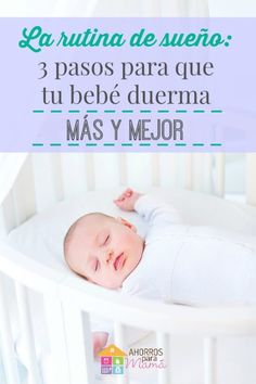 Rutina de sueño para bebés