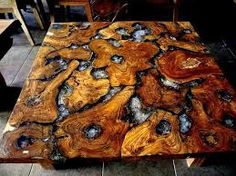 Bildergebnis für cordwood table