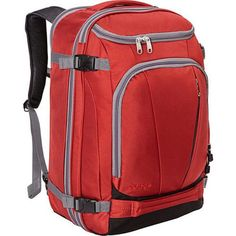 eBags TLS Mother Lode Weekender Convertible Carry-On Travel Backpack - Fits 19 Laptop - (Sinful Red) Photography New York, Travel Photography Tumblr, Travel Packing, Travel Backpack, Travel Usa, Travel Tips, Packing Tips, Travel Hacks, Travel Ideas