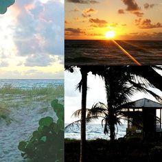 Good morning.  Happy Friday #sunrise #30daysofchange #imaginedself #delraybeach #beachlife #unemploymentlife by imaginedself