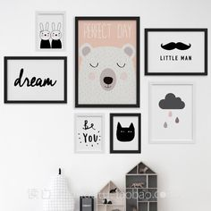 Aliexpress.com: Comprar Nordic Decoración Pared Arte de la Lona Pintura de Pared Cuadros Para la Sala de estar Posters and Prints Día Perfecto Sin Marco Del Cartel Cuadros de picture for living room fiable proveedores en sweet-life