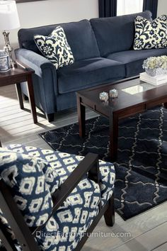 Indigo Living Room set - Google Search