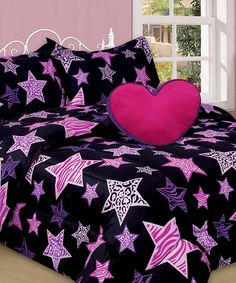 Animal Stars Mini Comforter Set #zulily #zulilyfinds