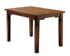 Étkezőasztal FREDERICIA 80x120 antikolt | JYSK