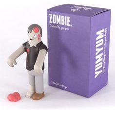 Zombie art toy by Yum Yum studio.