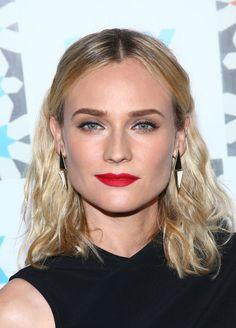 Diane Kruger Medium Wavy Cut - Diane Kruger Looks - StyleBistro