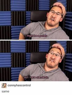 I don't even watch Mark but I can relate