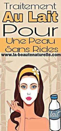 Traitement au lait pour une peau sans rides #lait #peau #rides Anti Ride, Face Treatment, Beauty Recipe, Beauty Hacks, Beauty Tips, Skin Care, Cosmetics, Diy Beauté, Homemade
