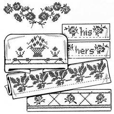Aunt Martha's #3791 Lovely Borders for Pillow Cases