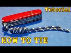 How to Tie Paracord lanyard with Overhand Sliding knot ( Tutorial / Guide ) Paracord Projects, Paracord Ideas, Paracord Zipper Pull, Snake Knot, Sliding Knot, Macrame Tutorial, Celtic Knot, Knots, Zipper Pulls