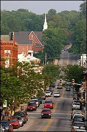 Lewisburg WV. Voted Coolest Small Town in America. (But shhhhh, don't tell anyone. We don't want the secret to get out!)
