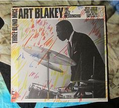 Art Blakey/The Jazz Messengers~          Three Blind Mice(1972,Jazz,LP)     $14