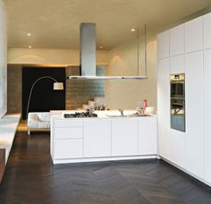 cucina moderna orange