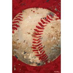 Baseball Canvas, Baseball Painting, Baseball Wall Art, Baseball Nursery, Baseball Stuff, Baseball Bathroom, Sports Baseball, Baseball Scoreboard, Sports Bathroom