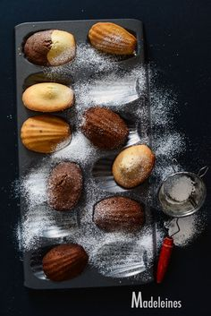 Orange Flower & Dark Chocolate Madeleines