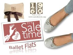 Ballet Flats 1960Travel Made in Italy e-commerce-shoes  www.1960travel.com/#!sale-ballerine/cf2r 30% Off Sale Free Shipping