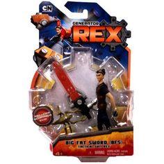 Generator Rex Rex Action Figure [Big Fat Sword Tactical Suit], Multicolor