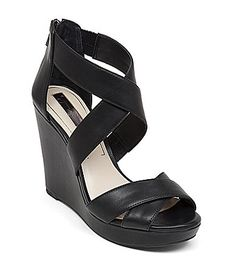 046e22bfaa57 Jessica Simpson Jadyn Wedge Sandals  Dillards Black Wedge Sandals