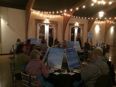 Martin City Event Space is beautiful to have a #PaintParty in. #PaintOlathe