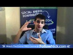www.FollowNick.com 10. Add pictures and video - Facebook Marketing About Facebook, Free Courses, Facebook Marketing, Picture Video, Social Media, Ads, Youtube, Website, Pictures
