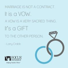 Is #marriage more than a vow?
