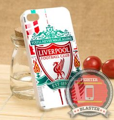 Liverpool Football Club - iPhone 4/4s/5/5S/5C Case - Samsung Galaxy S2/S3/S4 Case - Black or White by FIGHTERBLASTER on Etsy