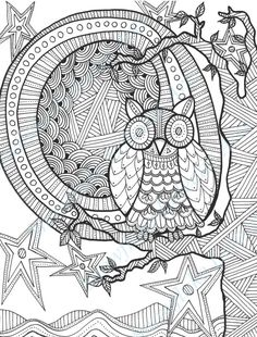 DIY COLORING Page Instant PDF Digital by SnowflakeEclecticArt