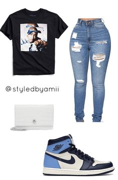 Casual Outfits For Teens, Baddie Outfits Casual, Swag Outfits For Girls, Cute Outfits For School, Cute Swag Outfits, Cute Comfy Outfits, Teenager Outfits, Dope Outfits, Teen Fashion Outfits