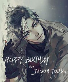 Aug. 16th Happy Birthday to Jason Todd! #JasonTodd #Redhood