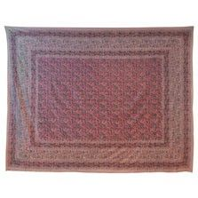 This exotic pink vine provincial print tapestry will add earthy bohemian style to any space. Use it as a wall hanging, tablecloth, bedspread, picnic blanket, and more! Please note: all tapestry measurements are approximate. $32.00