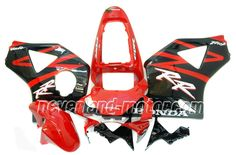 Carenado de ABS de Honda CBR900RR 954 2002-2003 - Rojo/Negro
