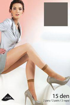 Socks model 35187 Gabriella. Spandex 15 % Polamid 85 %