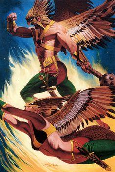 Hawkman & Hawkgirl - David Michael Beck