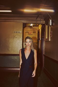 Martha Hunt in So It Goes Magazine October 2015 Editorial Photoshoot