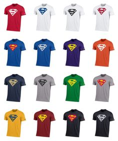 Other Mens Clothing 313: Under Armour Men S Superman Charged Cotton Performance T-Shirt 35 Styles 2 Pick -> BUY IT NOW ONLY: $34.99 on eBay!