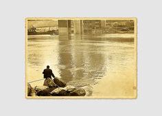 Fishing Along the River Chongqing City China David McBride Photography 0003