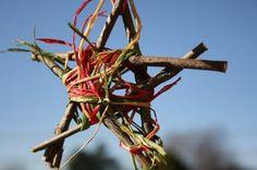 Twig star ornaments