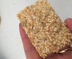 Low Carb LCHF Grain free Nut Free Parmesan & Sesame Crackers by kristynsteve0 on www.recipecommunity.com.au