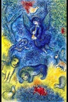 Chagall series: Music http://www.arteeblog.com/2015/04/serie-chagall-musica.html