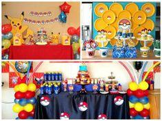 ideias festa pokémon simples