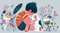 """keithnegley: """"Dismantling toxic masculinity one illo at a time! Giving boys permission to cry for NPR. Story here. """""""