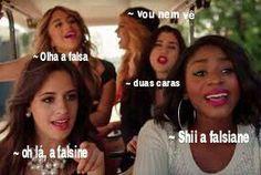 Read 36 from the story e Fifth Harmony memes, eveeer by jeondokook (Toddynho) with reads. terminada, engraçado, Quando a falsiane chega Fifth Harmony Camren, Bad Mood, Meme Faces, Bffs, Diva, My Photos, Comedy, Humor, Funny