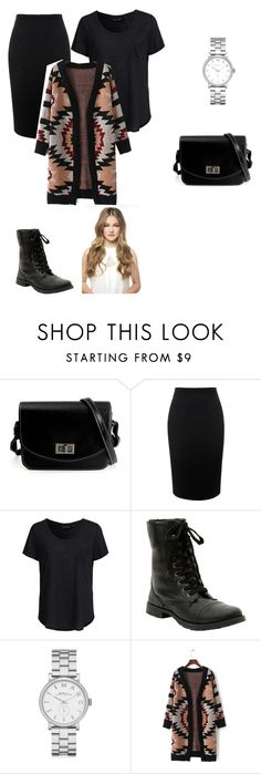 """""""Seattle day 3/Going home."""" by kayleemichelle12 ❤ liked on Polyvore featuring Alexander McQueen, New Look and Marc by Marc Jacobs"""