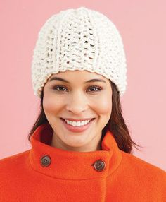Lion Brand® Wool-Ease® Thick & Quick® Brisbane Hat