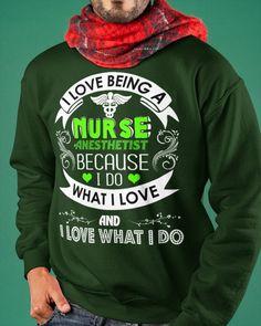 I Love Being A Nurse Anesthetist - CRNA - Forest Green nurse ecards, nurse and doctor, nurse cake #outdoor #happygirl #tirol