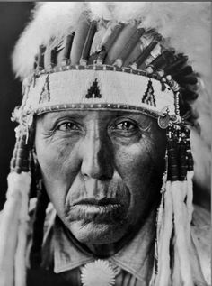 Red Bird (the son of Black Kettle, and the husband of Prairie Woman) - Southern Cheyenne - 1927 {Note: His wife, Prairie Woman, was the daughter of White Shield.}