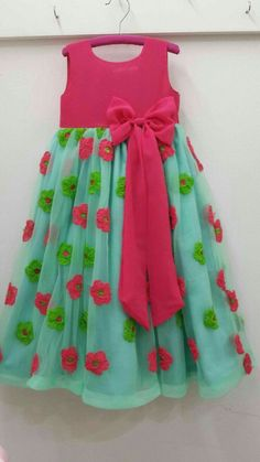 Children Clothes Girls Toddlers Ideas 64 Ideas For 2019 Girls Frock Design, Kids Frocks Design, Baby Frocks Designs, Baby Dress Design, Frocks For Girls, Dresses Kids Girl, Kids Outfits, Kids Dress Wear, Kids Gown